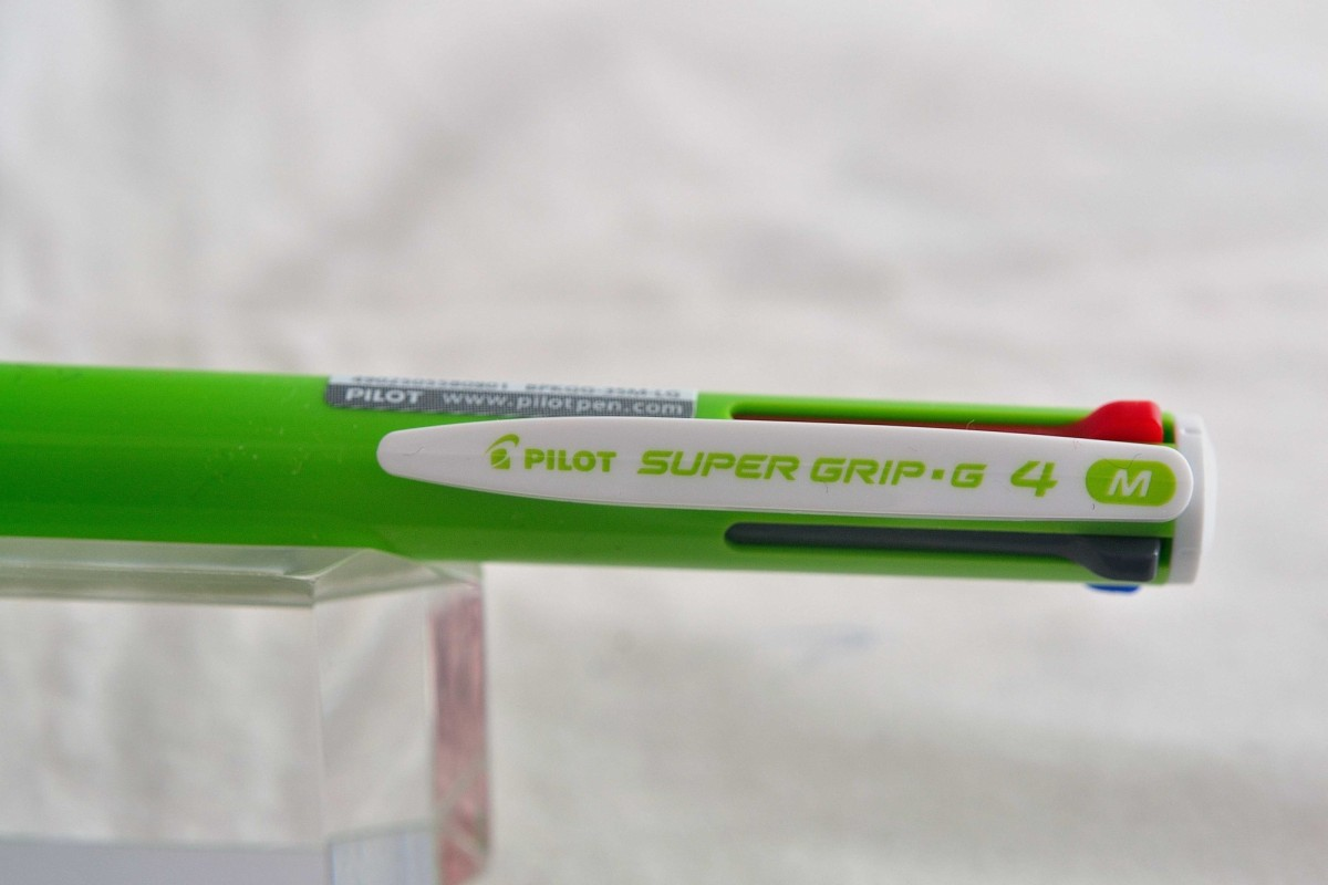 """Pilot шариковая ручка четыре цвета BPKGG-35 """"SUPER GRIP G""""."""