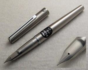 Pilot Murex Steel Integral Nib Fountain Pen, Sticker