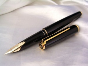 Big Nib-14kt-F PILOT Custom Black F/Pen1981sVintage