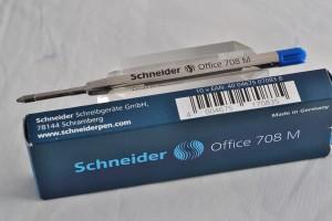 "Schneider шариковый стержень 708 ""Office""."