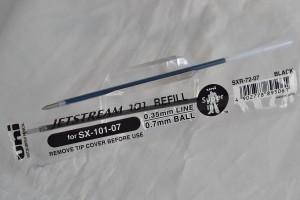 "Uni стержень шариковый SXR-72 ""Jetstream 101""."