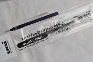 Uni стержень гелевый UMR-5.