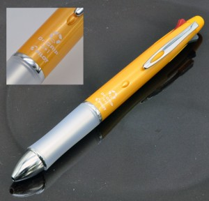 """Pilot шариковая ручка и механический карандаш (4+1) """"DR. GRIP"""" BKHDF-1SR-B чёрный."""