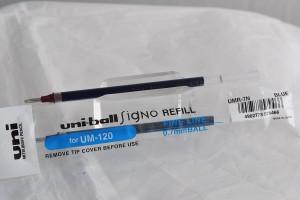 Uni стержень гелевый UMR-7.