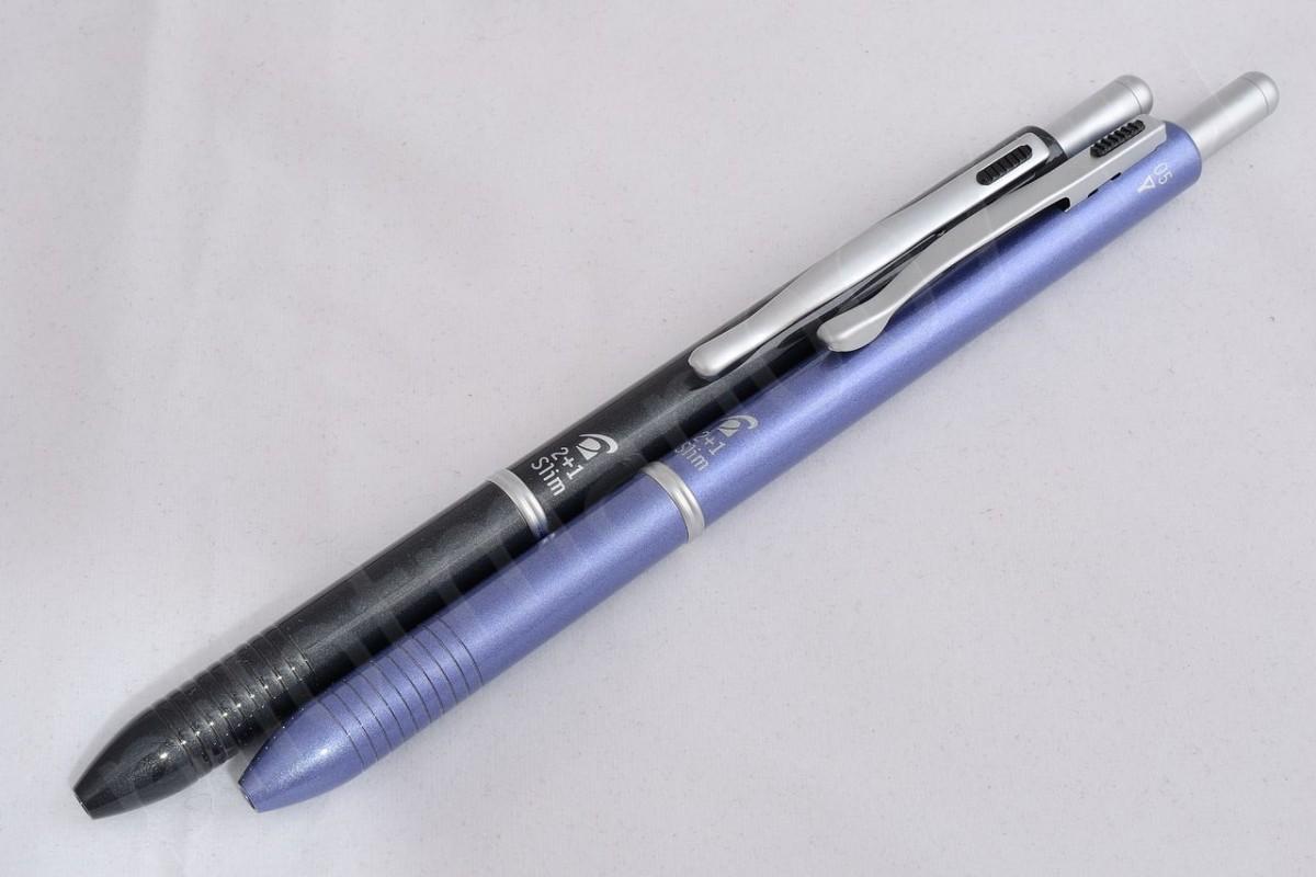 """Pilot шариковая ручка и механический карандаш (2+1) BKH-2SR """"Slim""""."""