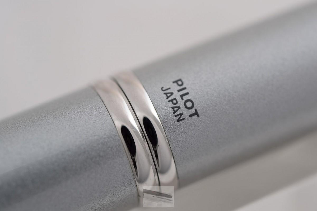 """Pilot Fountain Pen """"Capless"""" Silver"""