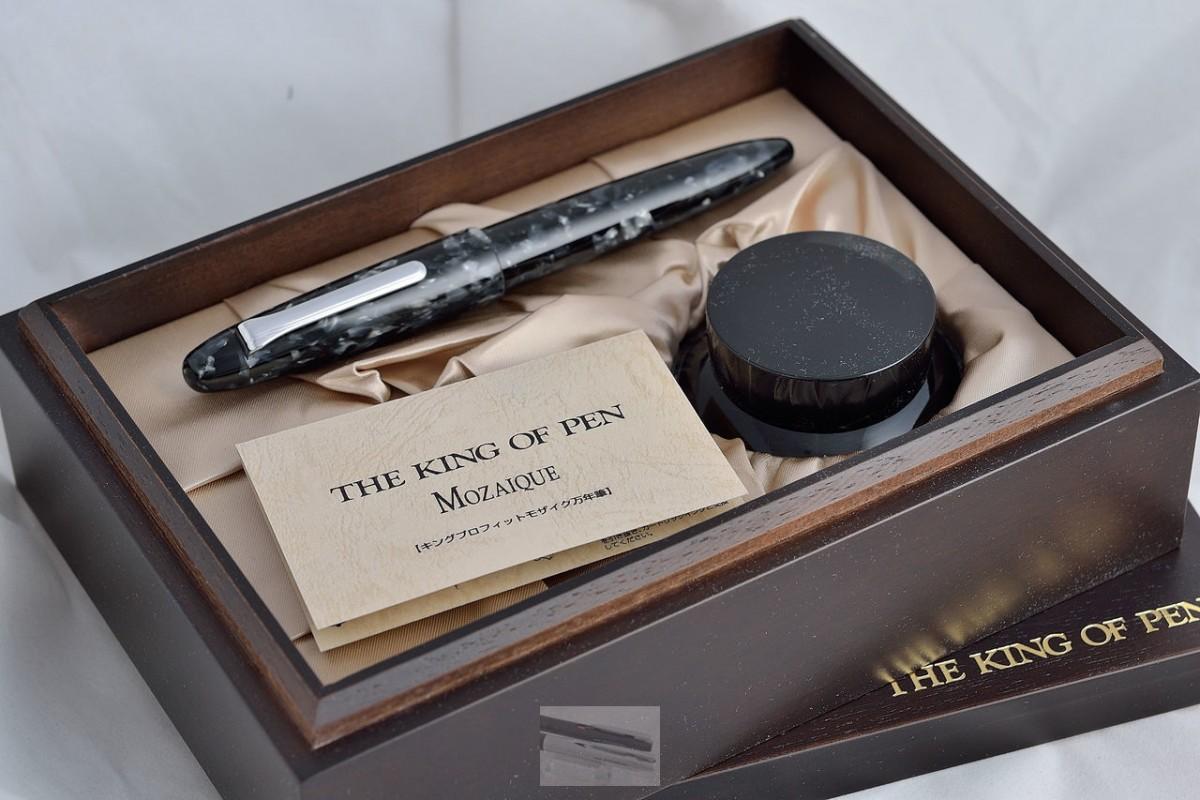 "Sailor перьевая ручка 1911 Profit Grey Mosaique ""KING OF PEN""."