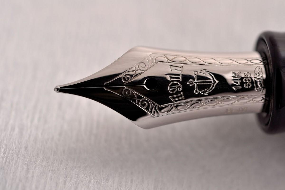 Sailor Fountain Pen. Profit 1911 Standart Rhodium 14kt Gold Medium nib