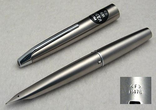 Pilot Original MYU 701 Steel Fountain Pen, Sticker