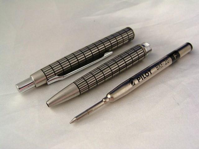 2Pens set Elite PILOT F/Pen B/Pen-1976sVintage