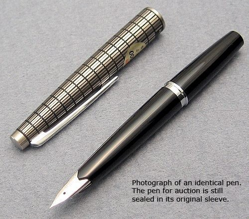 Pilot 70s Steel Elite Fountain Pen Still Factory Sealed