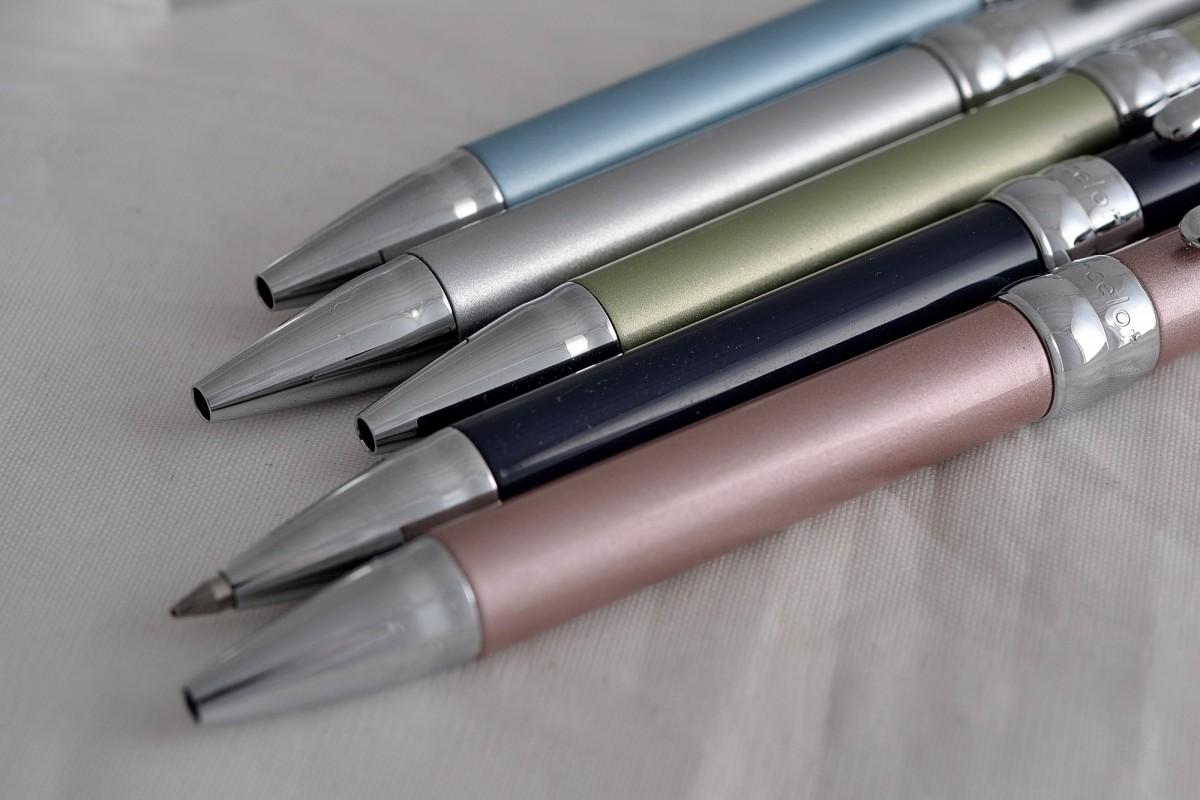 """Pentel шариковая ручка LB1 """"Lancelot""""."""