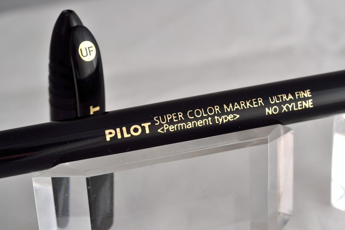 """Pilot перманентный маркер SCAN-UF """"Super Color""""."""