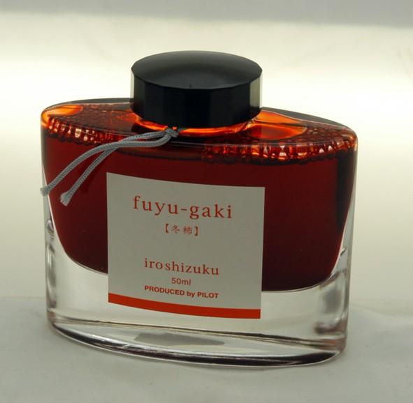 """Pilot Iroshizuku ink INK-50-FG """"FUYU-GAKI""""."""