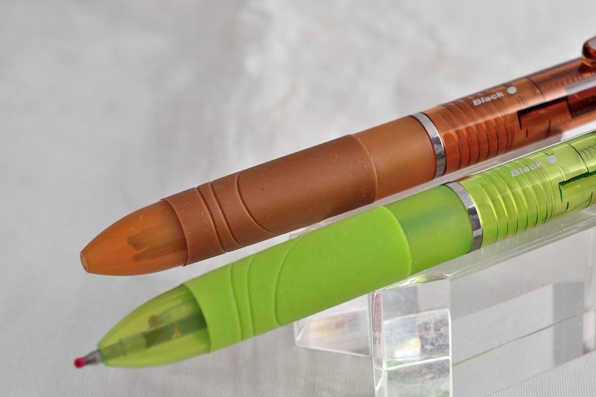 """Zebra трёхцветная шариковая ручка B3A11 """"Surari 3C""""."""