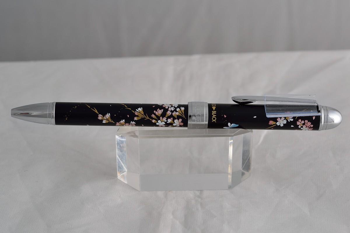 """Sailor шариковая ручка и механический карандаш (2+1) """"Sidare-Sakura"""" Black."""