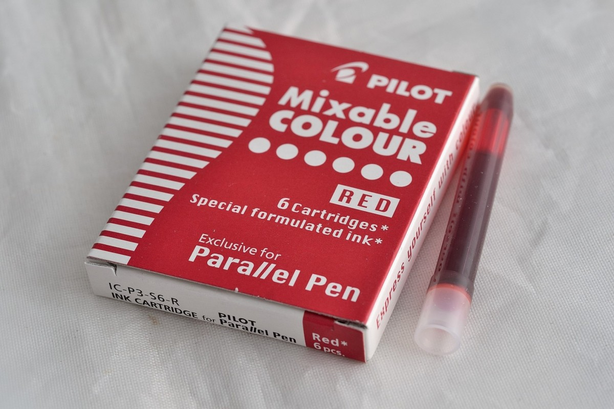 """Pilot набор чернильных картриджей IC-P3-S6 """"Parallel Pen""""."""