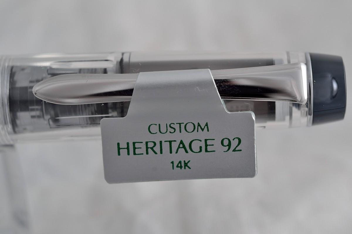 """Pilot  перьевая ручка FKVH-15SRS """"Custom Heritage 92""""."""