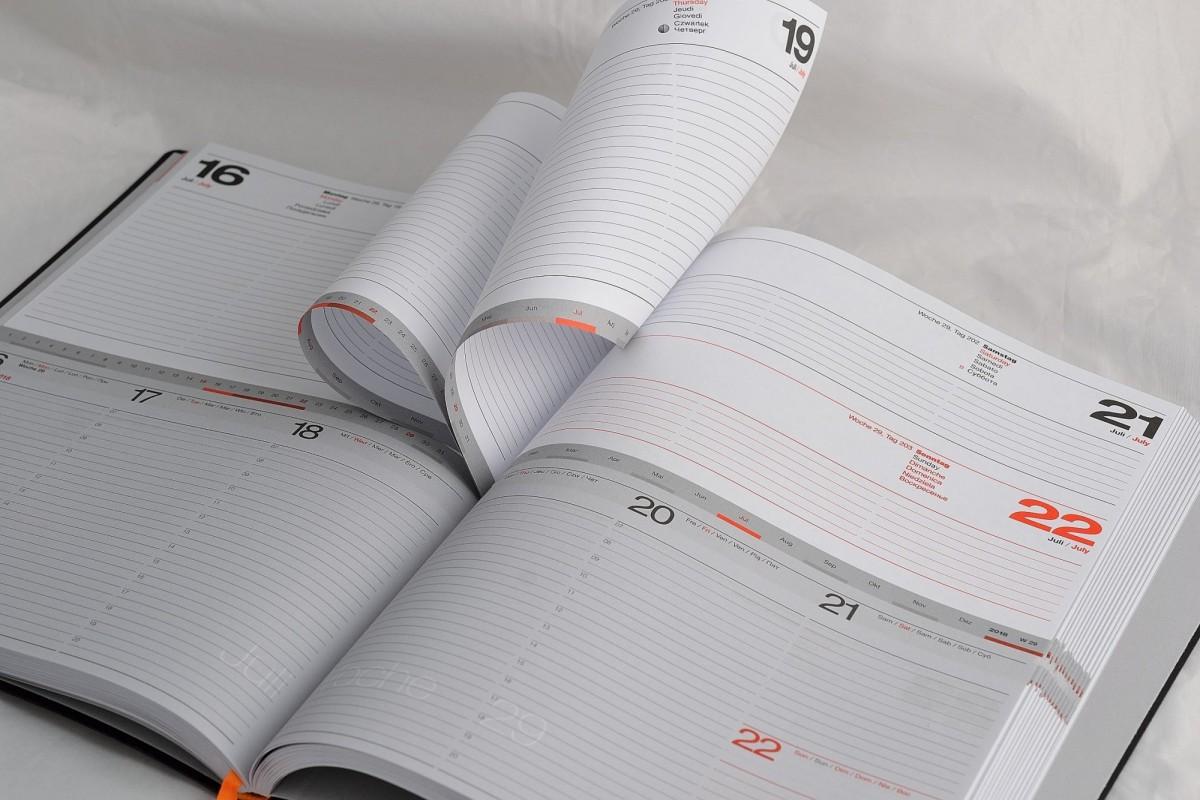 Lediberg ежедневник-еженедельник 2 в 1.