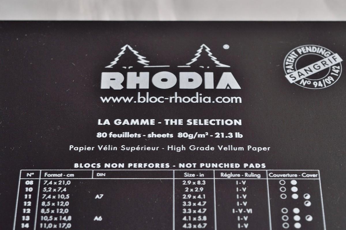 Rhodia блокнот.
