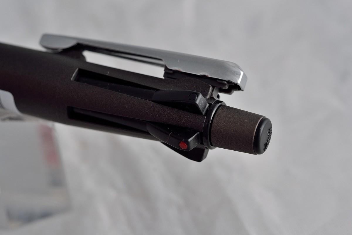 "Zebra шариковая ручка и механический карандаш (4+1) B4SA4 ""Clip-on Multi 2000""."