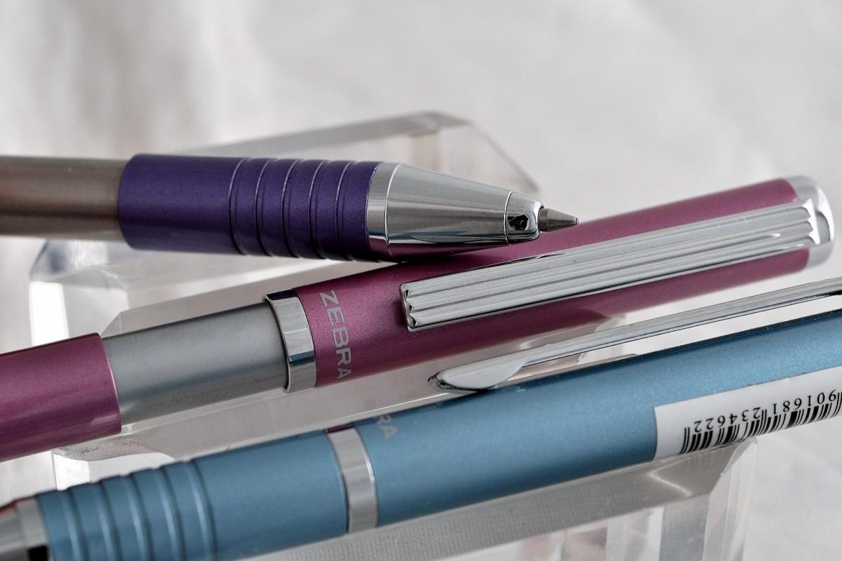 """Zebra шариковая ручка  BS1 """"Telescopic""""."""