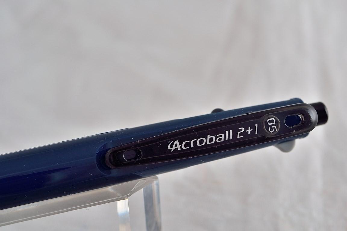 """Pilot шариковая ручка и механический карандаш (2+1) BKHAB-40 """"Acroball""""."""