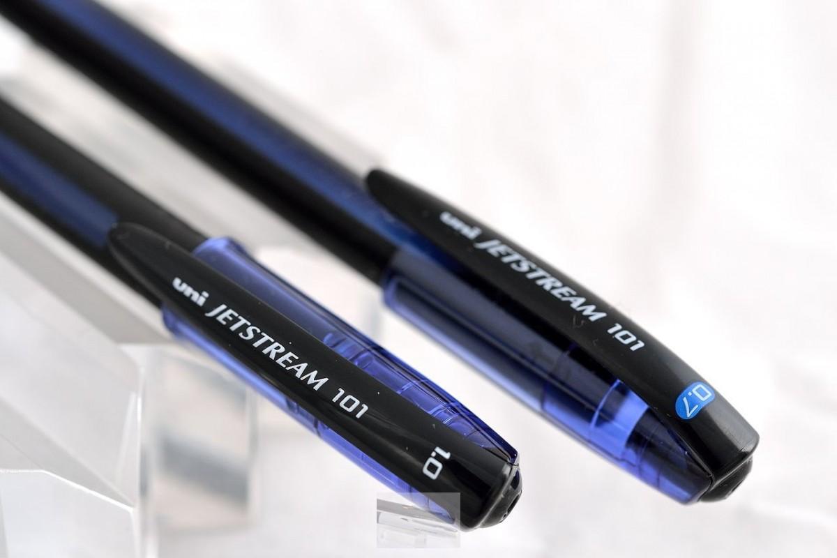 "Uni шариковая ручка SX-101 0.7 ""Jetstream 101"" зелёный."