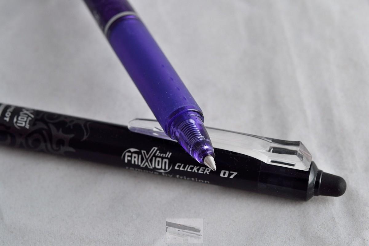 """Pilot ручка со стираемыми гелевыми чернилами """"Frixion Ball Knock"""" BLRT- FR-7-V фиолетовый."""