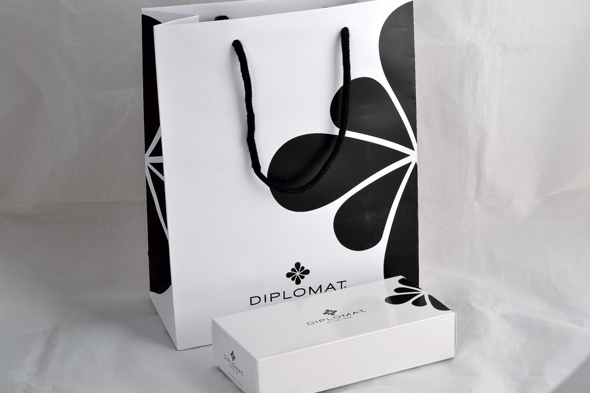 """Diplomat шариковая ручка """"EXCELLENCE A"""" Rome Black White."""