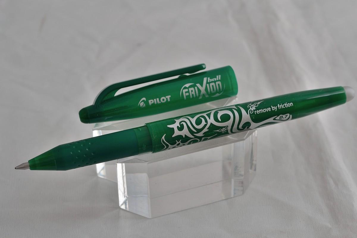 """Pilot ручка со стираемыми гелевыми чернилами BL-FR-7-G """"FRIXION BALL"""" зелёный"""