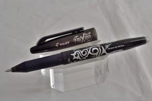 """Pilot ручка со стираемыми гелевыми чернилами BL-FR-7-B """"FRIXION BALL"""" чёрный."""