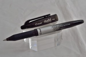 """Pilot ручка со стираемыми гелевыми чернилами BL-FRO-7-B """"FRIXION  PRO"""" чёрный."""