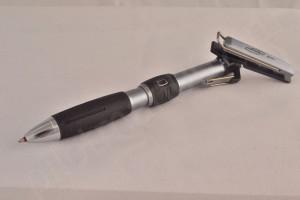 """Uni шариковая ручка и механический карандаш (2+1) """"Clip Turn EV""""."""