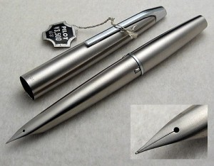 Pilot Original MYU 701 Steel Fountain Pen