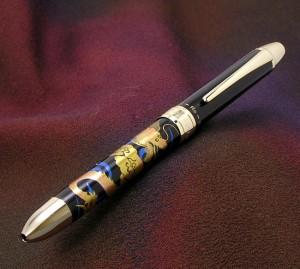 Platinum Maki-e RYU DRAGON TRIO Multi-Ball Pen