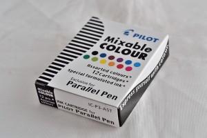 """Pilot набор чернильных картриджей IC-P3-AST """"Parallel Pen"""" 12 цв."""