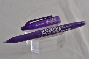 """Pilot ручка со стираемыми гелевыми чернилами BL-FR-7-V """"FRIXION BALL"""" фиолетовый."""